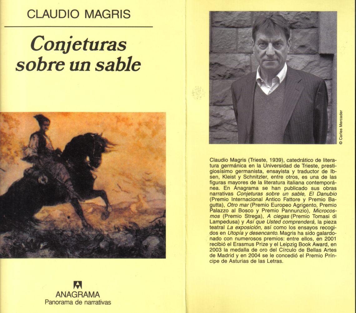 Javier Antón - El sable de Magris