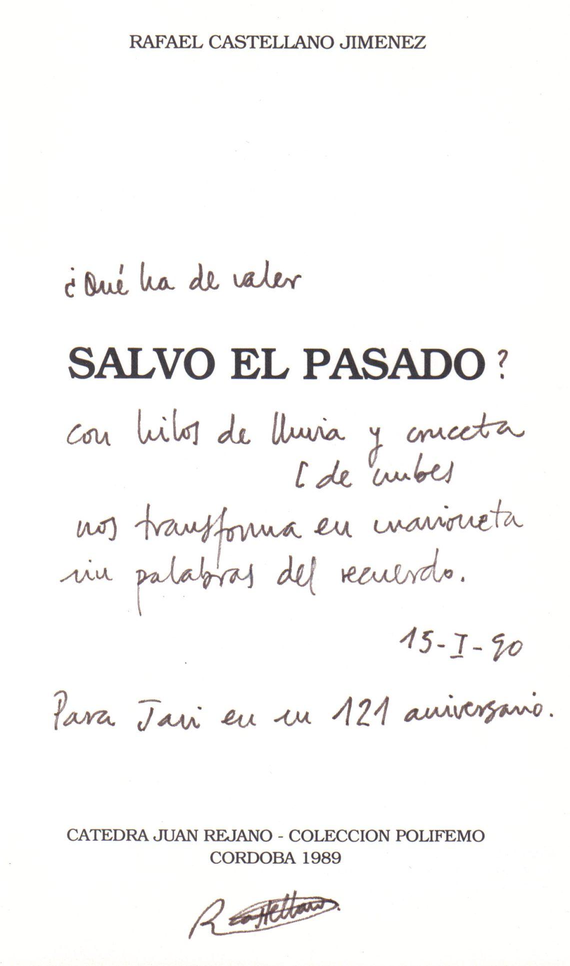 Javier Antón - Un poeta