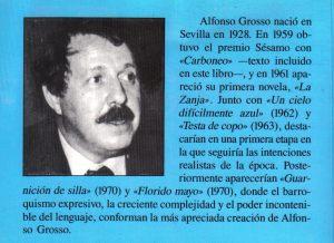 Javier Antón - Sobre Grosso